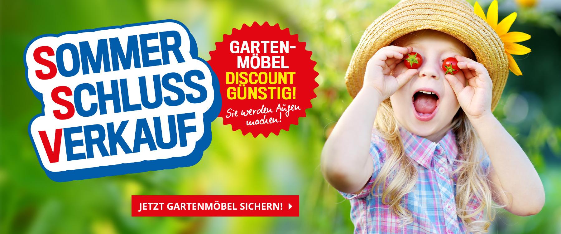 Gartenmöbe zu Schnäppchenpreisen